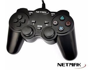 Joystick Pc Netmak Usb 2.0 - Factura A / B