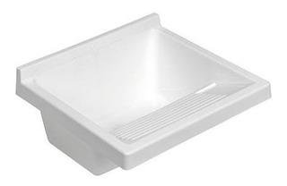 Pileta Bacha Plastica Lavadero Blanca Ferrum Lp010-b Cuotas