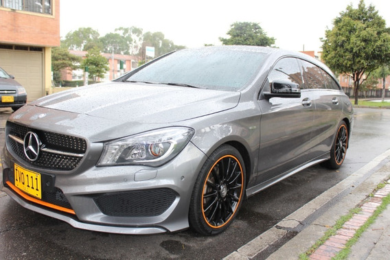 Mercedes Benz Cla200 Shooting Brake Orange Art Edition