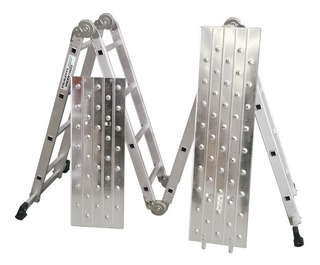 Escalera Multifuncion Aluminio 4x4 Chapon Andamio Pintumm