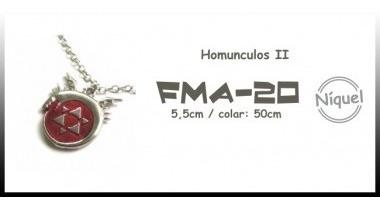 Colar Homunculos Ii (fullmetal Alchemist)