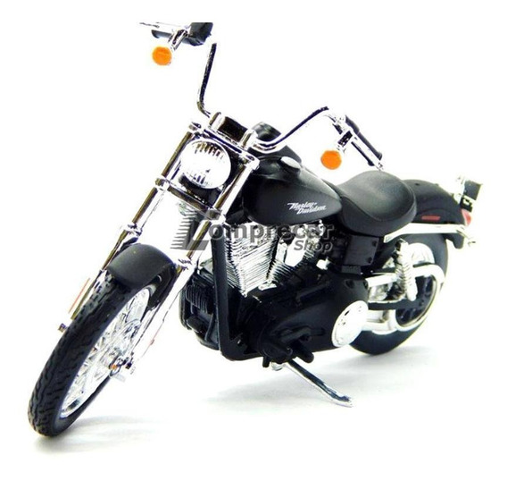 Miniatura Dyna Street Bob 2006 Serie 34 Harley 1/18