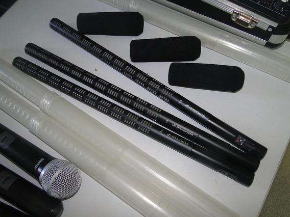 Microfone Sennheiser Shotgun Me67 + K6