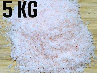 Sal Rosa Do Himalaia Fino Importado Iodado 5 Kg Com Laudo