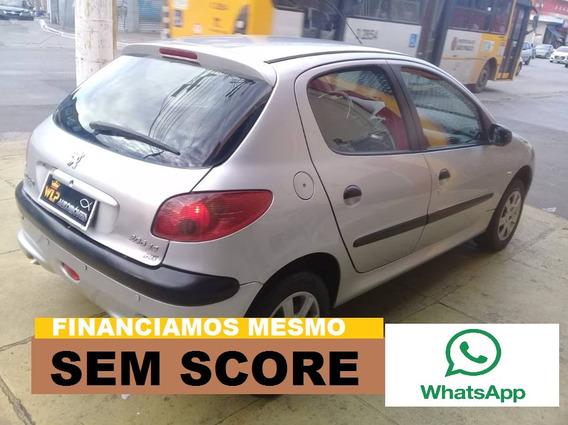 Peugeot 206 1.4 Financio Sem Score Baixa Entrada