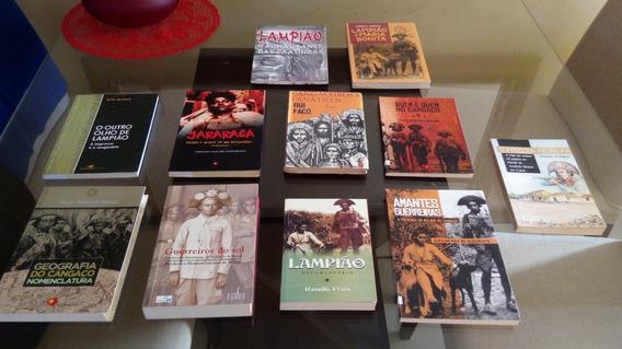 Cangaço Lote De Livros Guerreiros Do Sol E Outros