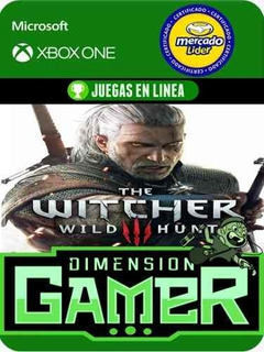The Witcher 3 - Xbox One - Modo Local + En Linea