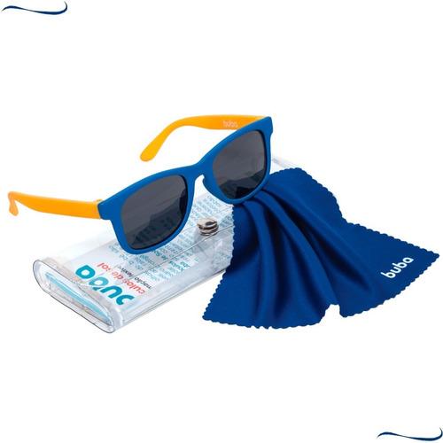 Óculos De Sol Com Estojo Infantil Bebê 100% Uva Uvb 0-36m