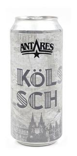 Kölsch Cerveza Artesanal Antares Lata 473ml X 6