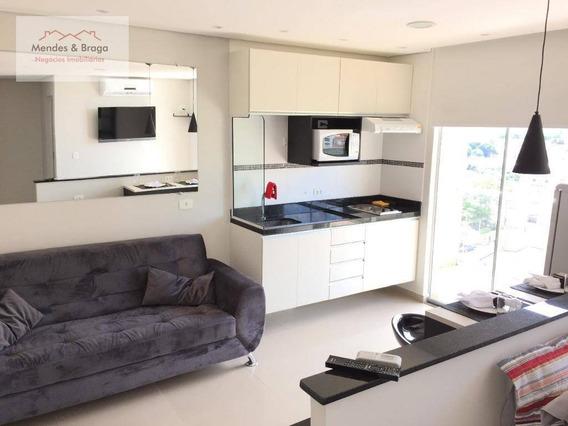 Studio Para Alugar, 36 M² Por R$ 1.550,00/mês - Vila Augusta - Guarulhos/sp - St0009
