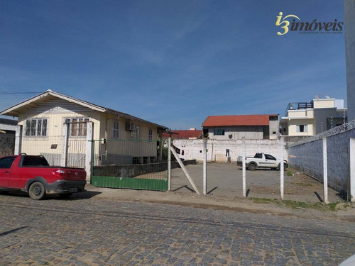 Terreno Amplo Bem Localizado, C/ 620 M² - No Bairro De São Vicente, Itajaí / Sc - Te0126