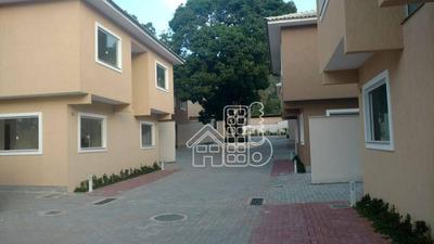 Casa Com 2 Dormitórios À Venda, 120 M² Por R$ 330.000 Rua Professor Helenice Coutinho Tebet, 288 - Engenho Do Mato - Niterói/rj - Ca0736