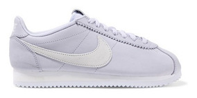 Nike Classic Cortez Leather And Suede Sneakers