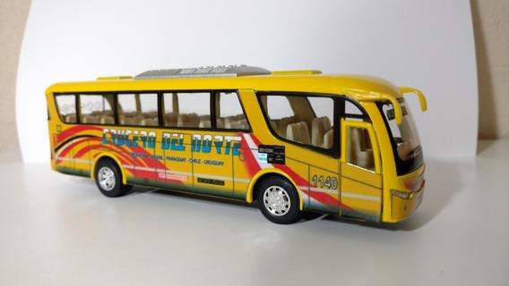 Micro Bus Colectivo Crucero Del Norte Metálico Duales 19cm