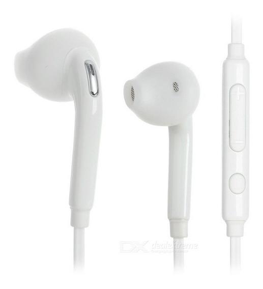 3.5mm Fone De Ouvido - Branco Frete Gratis