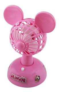 Mini Ventilador Infantil Potente Minnie Disney