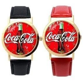 Relógio De Pulso Coca Cola (2 Cores),cod.00148