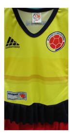 Vestido Niña Selección Colombia