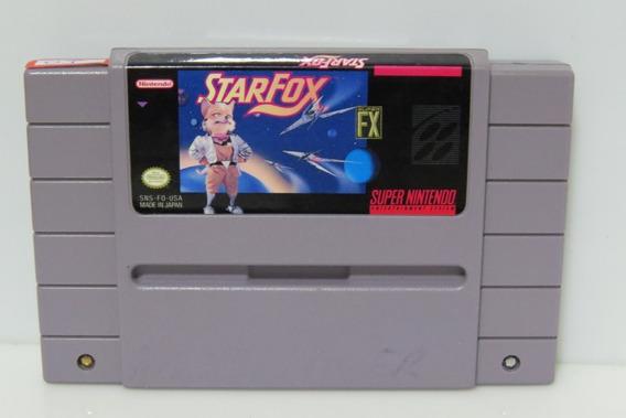1 Star Fox Snes Original Super Nintendo
