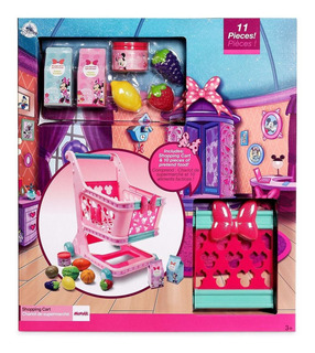 Minnie Mouse, Carro De Mercado Set De Juego, Disney Store