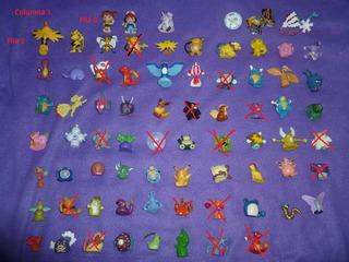Pokemon Mini Figuras X 3 Unidades! Leer! Bolsa 2