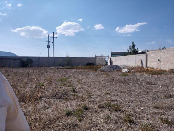 Terreno Habitacional En Venta En Mixquiahuala, Hidalgo.