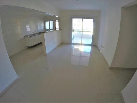 Apartamento Novo Com 3 Dormitórios Sendo 2 Suítes 100 Metros Da Praia Para Alugar, 139 M² Por R$ 3.300/mês - Vila Guilhermina - Praia Grande/sp - Ap3309