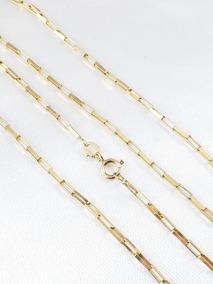 Corrente Elos Cartier De Ouro Amarelo Moderna E Comprida