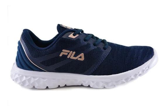 Zapatillas Fila Lady Fitness Azu De Mujer