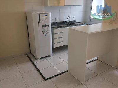 Flat Com 1 Dormitório Para Alugar, 29 M² Por R$ 1.200/mês - Gopoúva - Guarulhos/sp - Fl0003