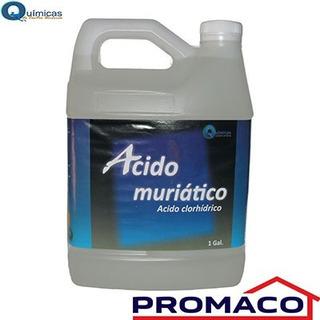 Acido Muriatico Limpiador De Fachadas Controlador De Ph