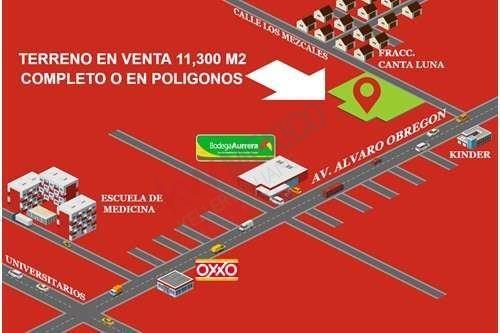 Terreno En Venta Alvaro Obregon Y Calle De Los Mezcales