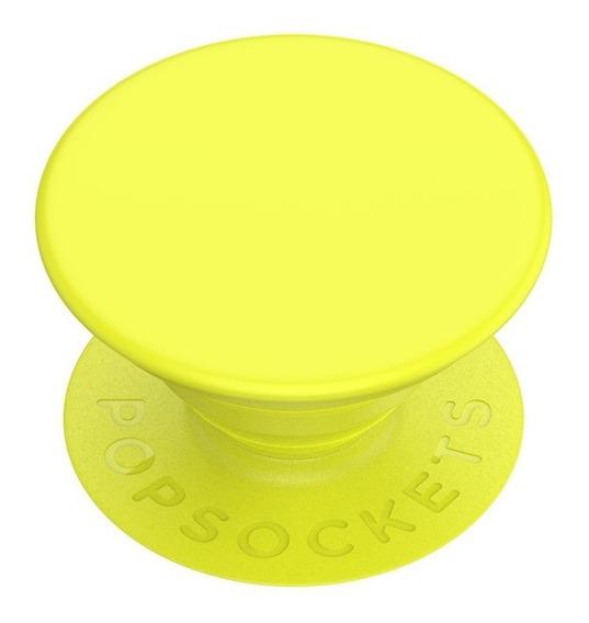 Popsockets Popgrip Soporte Para Celular Y Tablet Amarillo