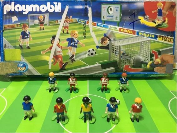 Playmobil 4700 - Campo De Futebol Raro