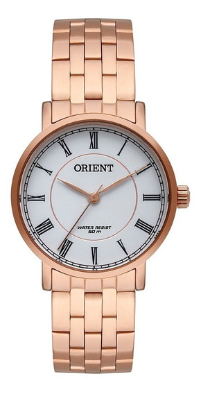 Relógio Orient Feminino Rose Frss0049 B3rx