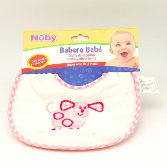 Babero Bebe Nuby Reversible De 2 Vistas