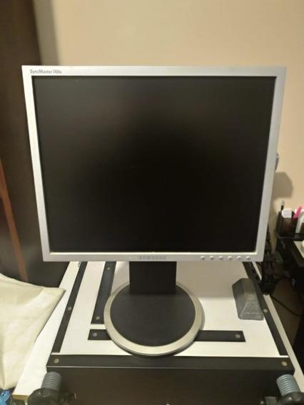 Monitor Samsung Syncmaster 740n - 17 Polegadas