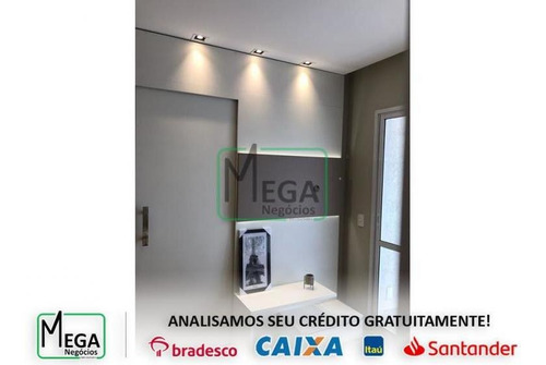 Imagem 1 de 19 de Apartamento De 40 M² À Venda Em Osasco - 1369_squaremega