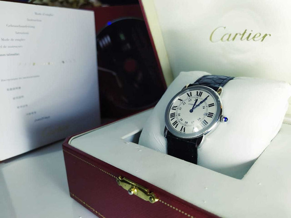 Relógio Cartier- Ronde Solo De Cartier