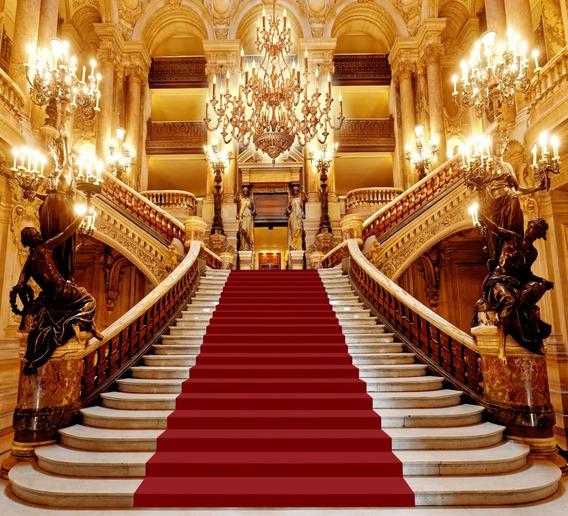 Fundo Fotográfico Tecido Escadaria Realeza 3,00m X 2,70m