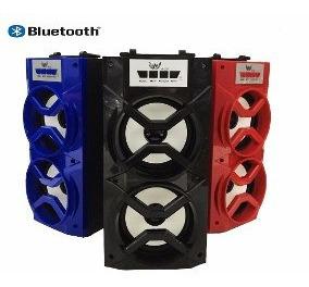 Caixa De Som Com Bluetooth Com Led A-20 Alto Falante Movel