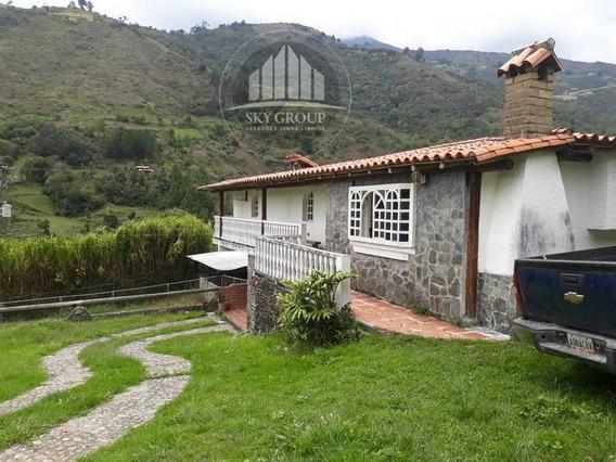 Casa Y Terreno 4200 Mts Cacute Merida Luz Marina Montilva