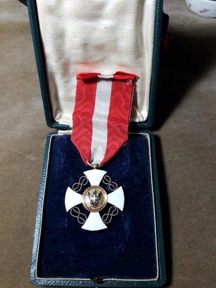 Condecoracion Militar Italia Circa 1866 Ref Caj Medall