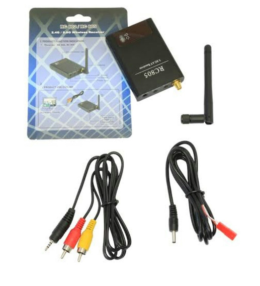 Receptor Rc 805 5.8 Ghz 8 Canais Boscan