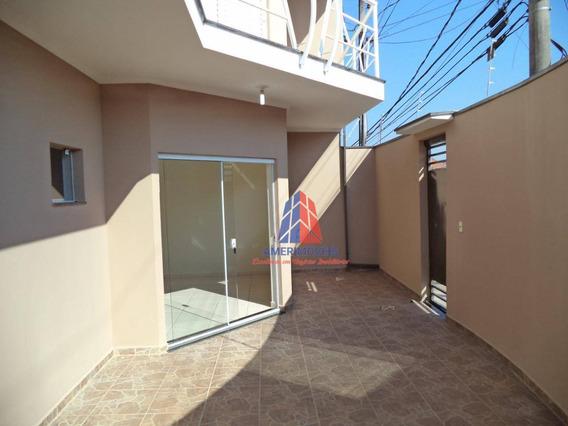 Sobrado Com 2 Dormitórios Para Alugar Por R$ 1.350/mês - Parque Residencial Jaguari - Americana/sp - So0014