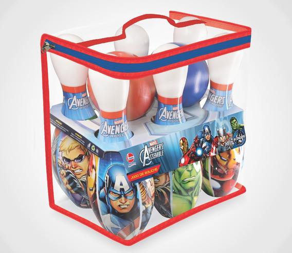Jogo De Boliche Avengers Licenciado Pela Líder Brinquedos