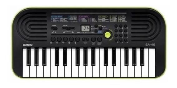 Teclado Digital Infantil Verde Casio Sa-46 Nf-e