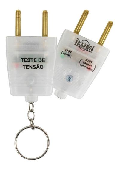 Chaveiro Identificador Voltagem Voltímetro Teste 110v / 220v