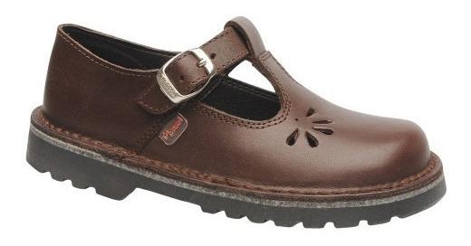 Zapatos Colegiales Escolares De Cuero Marcel 23 Al 33