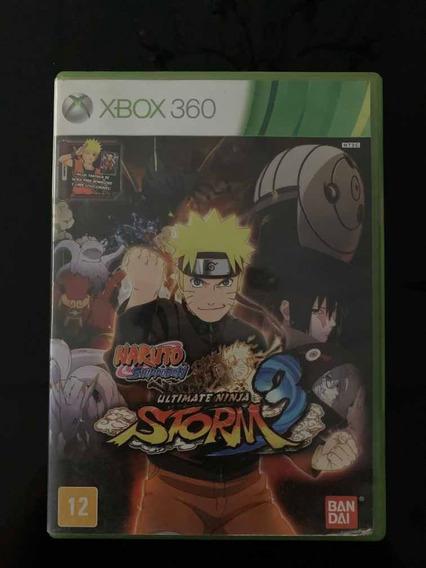 Naruto Ultimate Ninja Storm 3 Xbox 360 Original